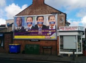 UKIP billboard, Oxford 2014