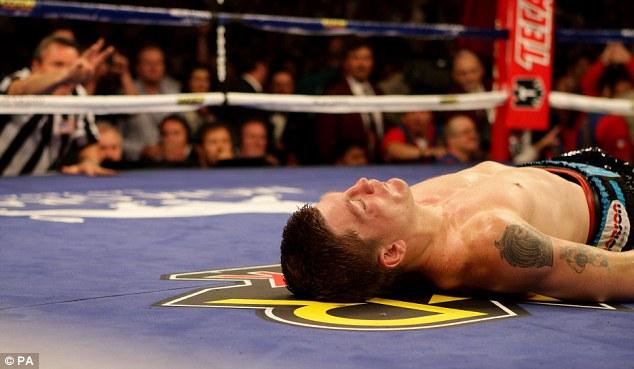 Boxer down