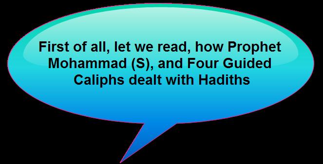 Caliphsand hadiths