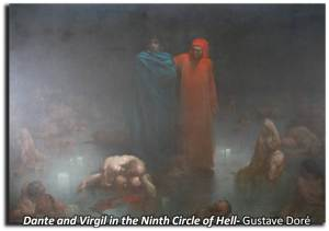 Dante and Virgil in Hell_Dore