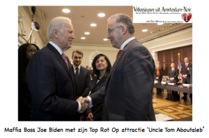 Joe Biden Ahmed Aboutaleb
