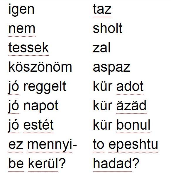 Nem beszélek Magyarul
