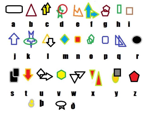 kleurig-alfabet-variant