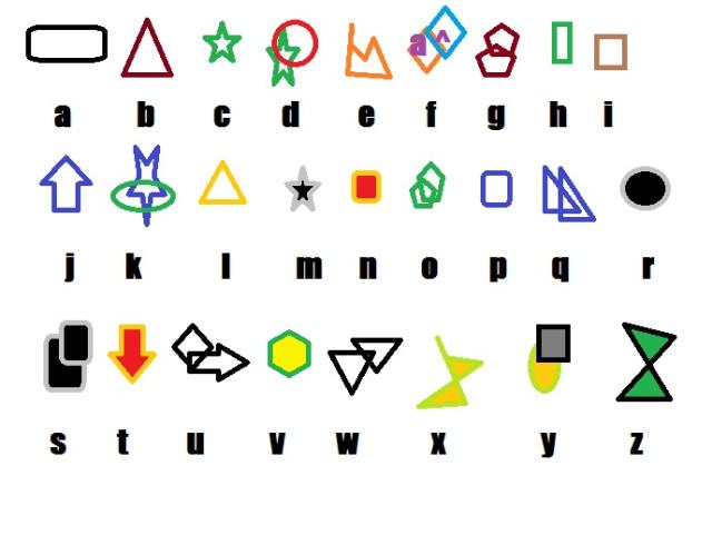 kleurig-alfabet