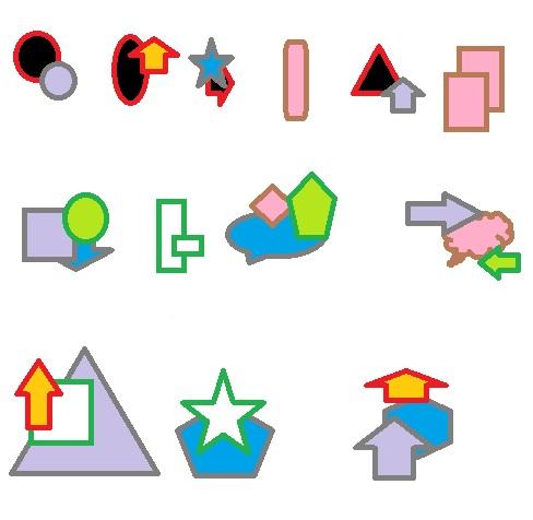 kleurvormen